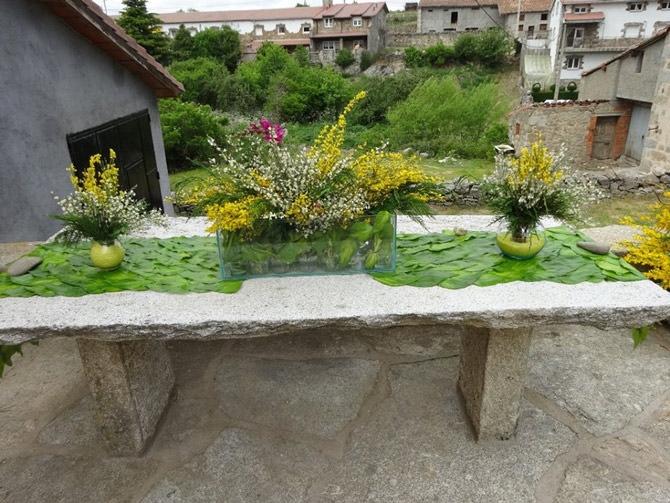 Decoración Piorno en Flor