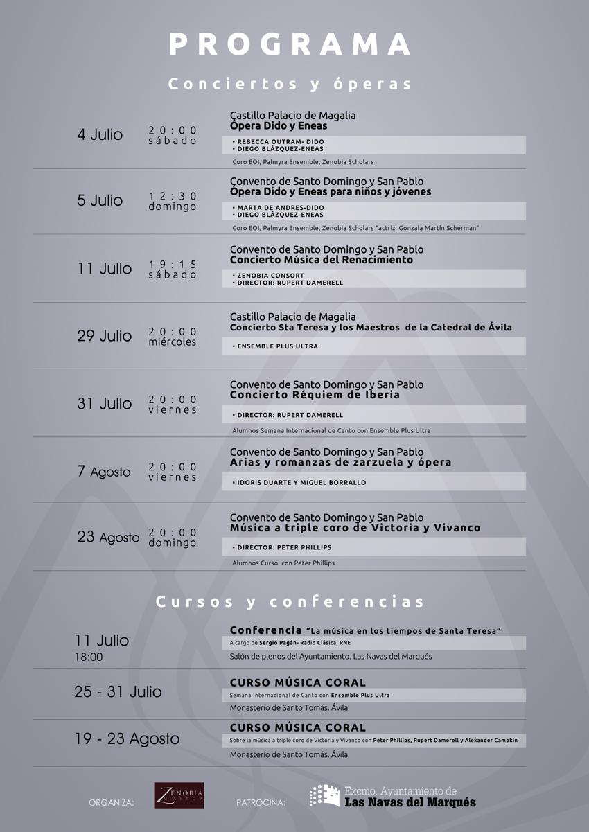 VI Festival de Música Vocal Las Navas del Marqués