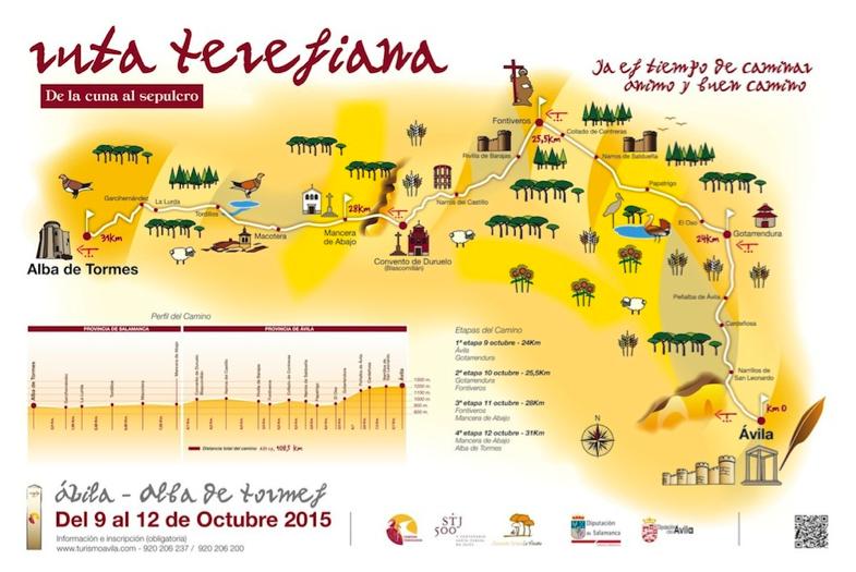 Ruta Teresiana de la Cuna al Sepulcro Ávila