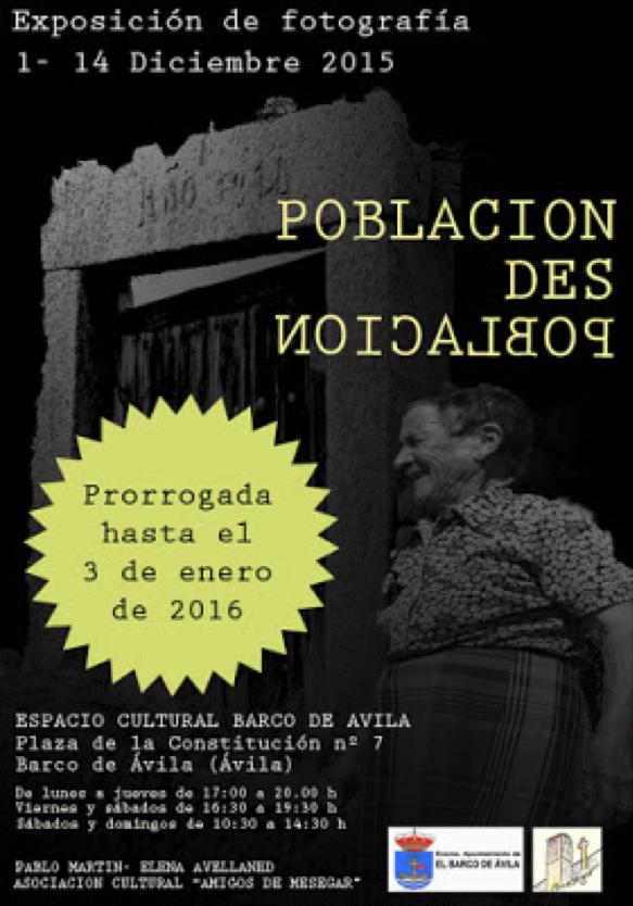 Exposición fotográfica 'Población, Despoblación'