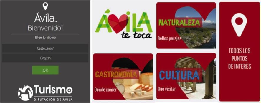 App Turismo Ávila