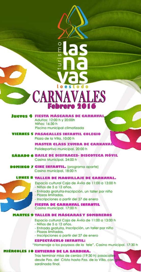 Carnavales Las Navas del Marqués