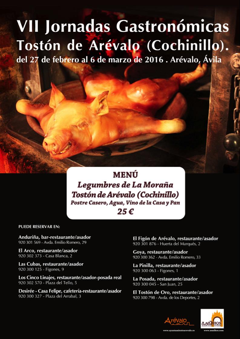 VII Jornadas Gastronómicas Tostón de Arévalo