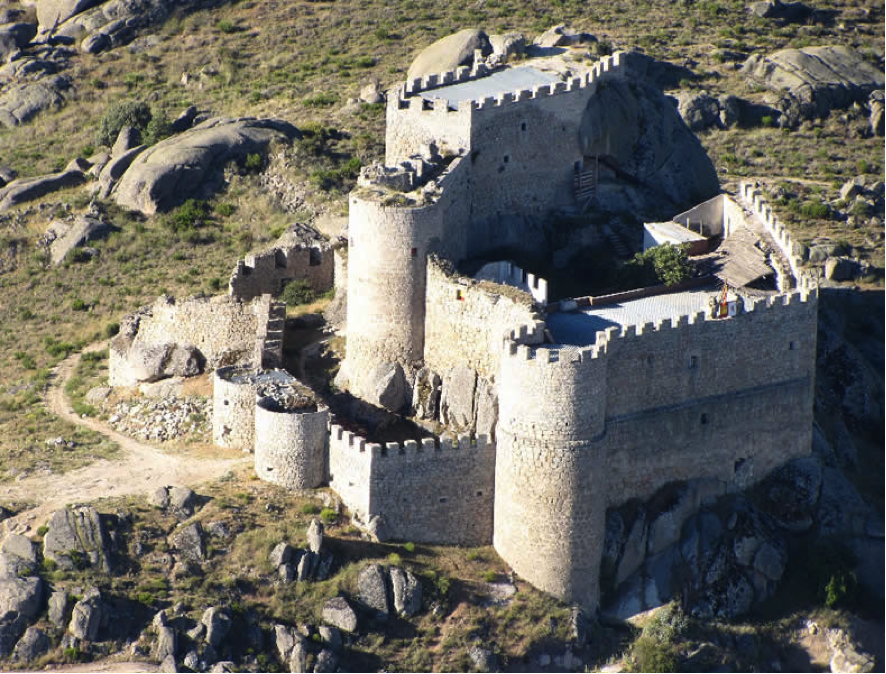 Leyendas Ávila Castillo de Manqueospese o Aunqueospese